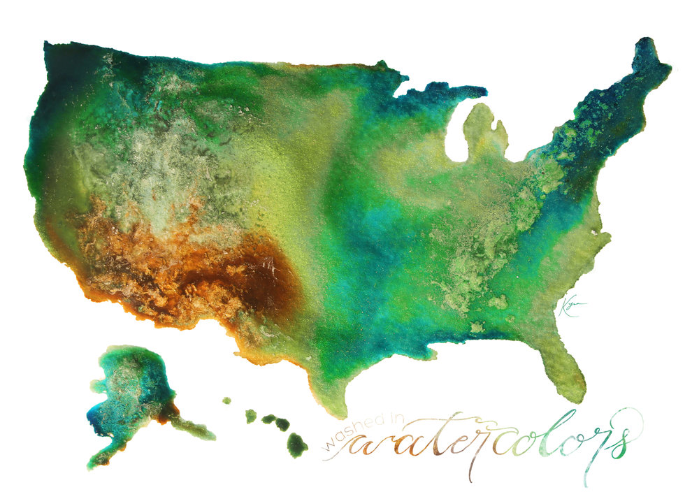 Ink the States - Brought to you by our Kickstarter Campaign
