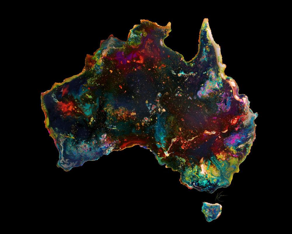 Australian opal - Commission
