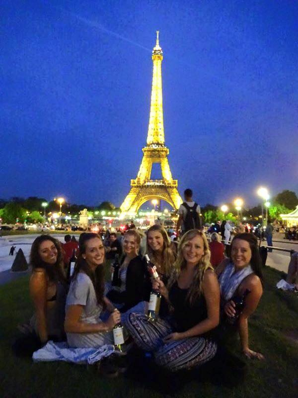 Before my trip to Paris, I only knew one of these great women. After meeting in our hostel tour and becoming friends, we all agreed that a cheap wine, chocolate, cheese and baguette night under the Eiffel Tower was on the top of our list of things we wanted to do while visiting. After a great night and much time exploring France, I now know that I can always go to Toronto, Canada, to visit the other ladies if I am ever in their area. Making friends through experiences while traveling is raw, and amazing.