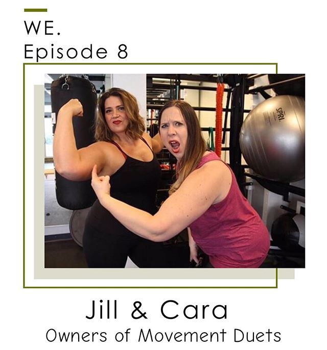 Need a laugh or some encouragement today? Definitely listen to this! 💚☺️ On today's episode, we bring Jill & Cara from Movement Duets on to talk about gymtimidation, body images, loving your body through and after pregnancy, some specific things you shouldnt be doing, and lots more. At their gym, Movement Duets, they work with women at all stages, but specialize in helping pre & post-natal women with their bodies through fitness and support. Their focus is to encourage every women through whatever stage of life that they are in in life. We are excited to share this episode with you because not only are Jill & Cara encouraging and inspiring, but they are hilarious as well! Let us know what you think!💪🏼