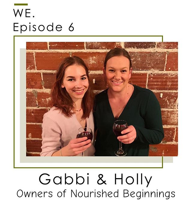 Looking for something to do on your snow day? Listen in to our latest podcast episode with the owners of the meal prep delivery service, Nourished Beginnings. Holly and Gabbi are two amazing women that have so much knowledge to share about meal prep, running your own business, tips for eating healthy with kids, and so much more!