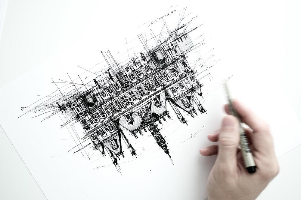 Hotel de Ville Paris sketch.jpg