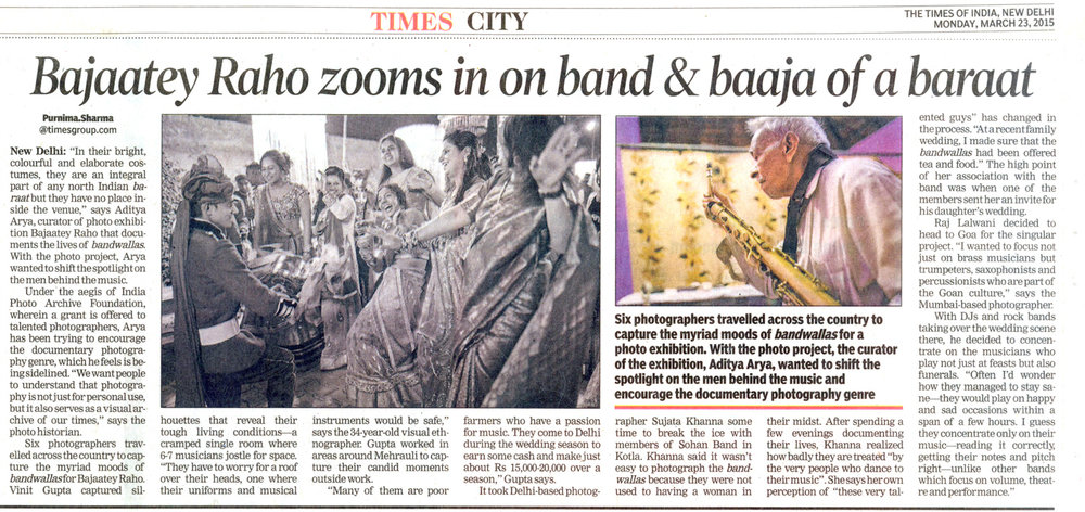 Bajaatey Raho zooms in on band & baaja of a baraat