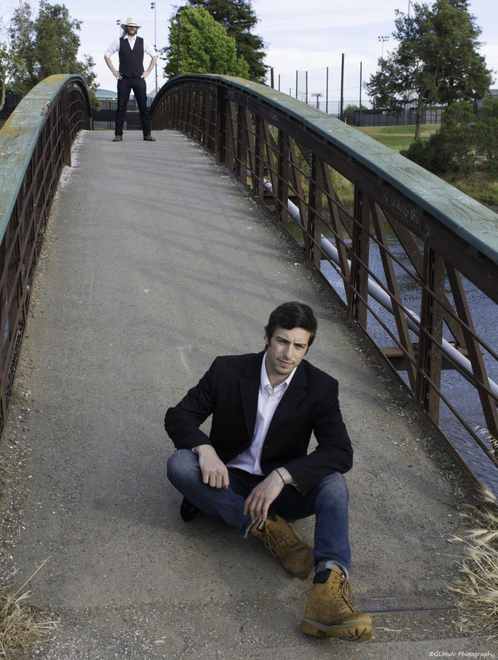 I&M Bridge Ian Sitting