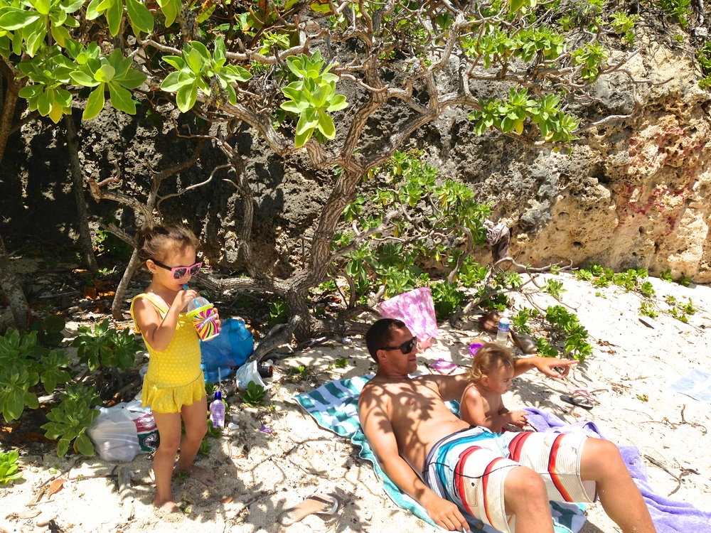 Clissold's Beach & 7-11 Slurpees