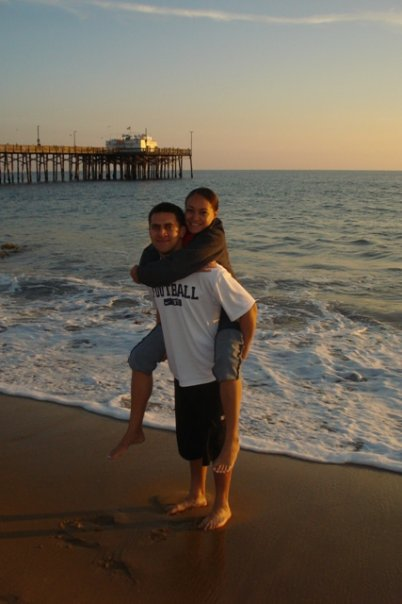 Only 3 1/2 weeks away from getting married. So happy, so in love and sooo excited! #NewportBeachPier