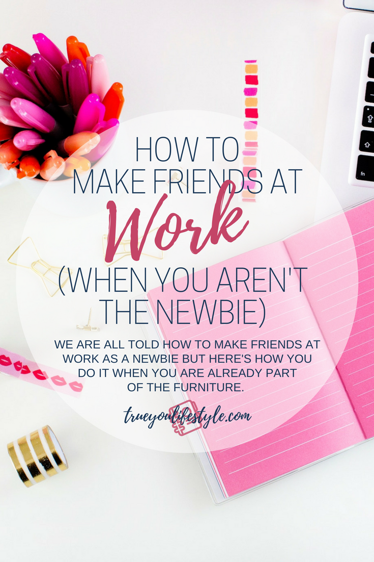 How To Make Friends At Work (When You're Not The Newbie)  So I have always been a little introverted and after distancing myself from people in the past due to depression and anxiety I have now gotten to the stage where I do want to surround myself with more cool people that I can vibe with. So when new people around my age start working in the same company as me I will always look at them as someone that could potentially be a friend to me. Here is how I have been making friends with people at work when I am not the newbie.