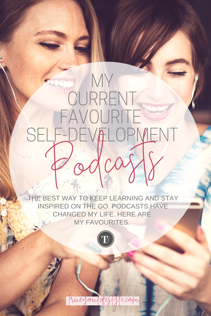 5 Podcasts Goal-Getters Must Listen To  I love podcasts (especially self-development podcasts), I listen to them when I walk the dog, on my commute to work and sometimes even in the shower. There is so much to be learned by listening to these amazing people's thoughts on personal development. If you are looking to elevate your life then turn off the music and turn on podcasts. You can get just so much inspiration from each episode. Here are some of the podcasts I am loving at the moment for self-improvement.