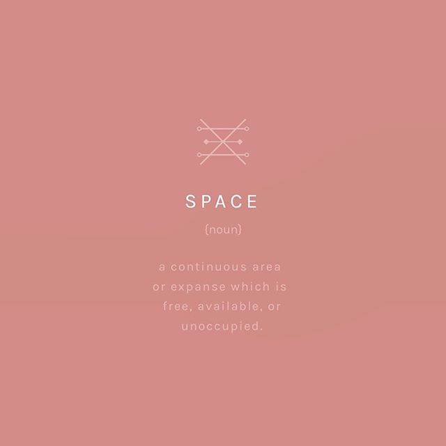 Never underestimate the power of space________ in both your external environment, and your inner being. De-clutter, minimise, take a breath, and just be ✌🏼 #ebtmusings