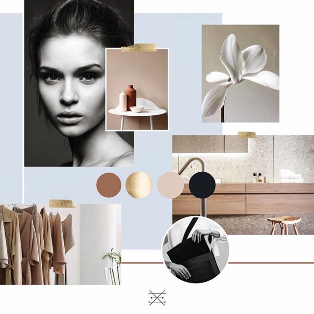 Mood board to end the week ✨ The inclusion of blue just brings that extra something to the otherwise neutral palette 👌🏼 I hope everyone has a lovely weekend! Mine will consist of a) catching up on study, b) catching up on study, and c) catching up on study...fun times ahead 😅 #madebyteodora
