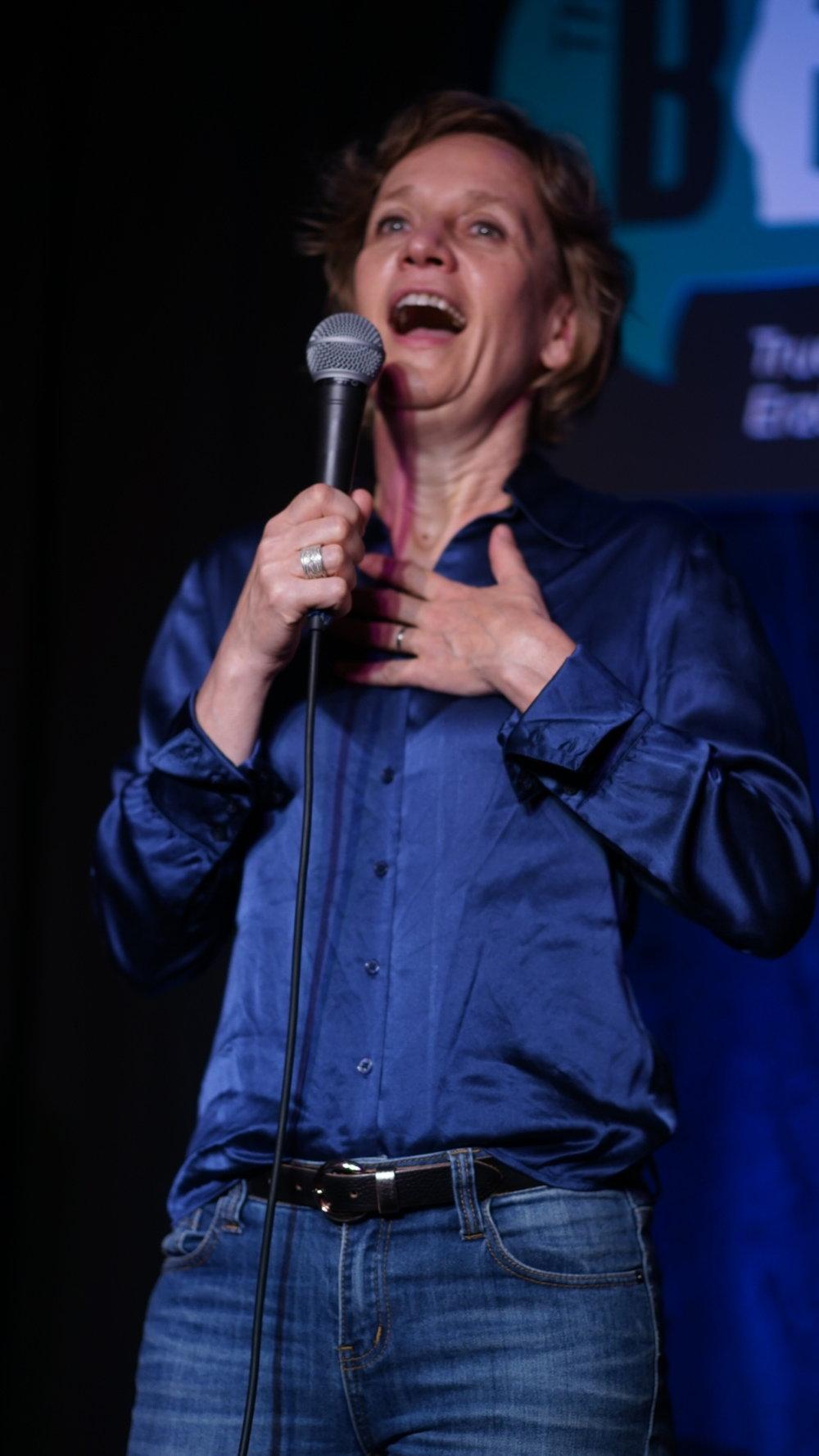 Storyteller Eva Goellner; Photo: Martin Behring