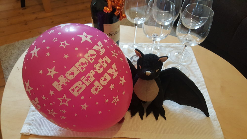 Birthday in Berlin, one year later…