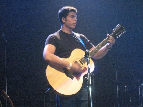 Ryan on stage.