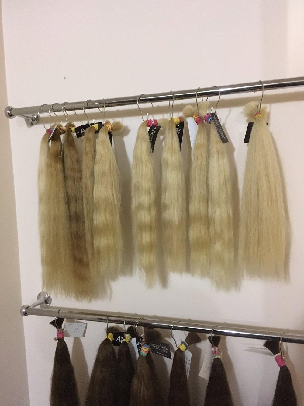Hair trade, Kiev, Ukraine