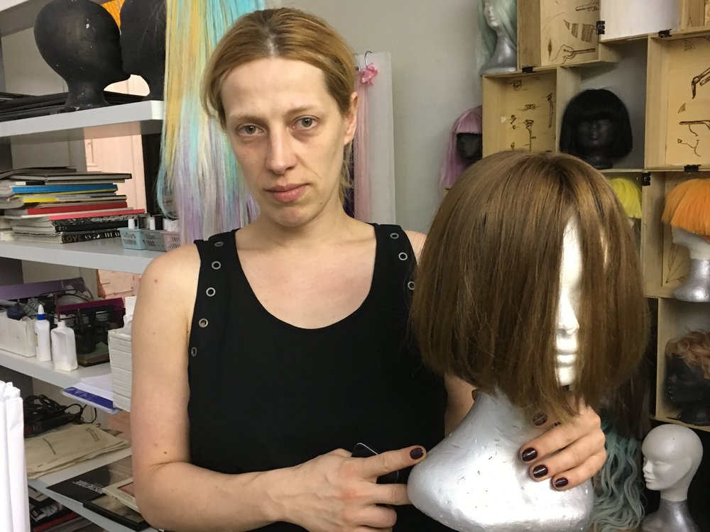 Kiev hair trade