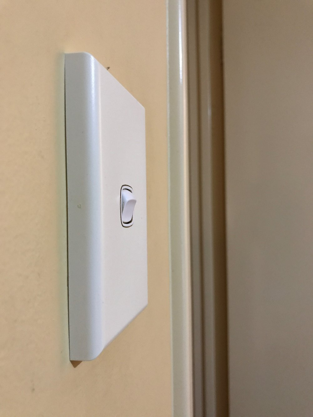 Wall Switch Side View