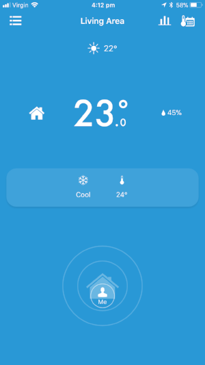 tado Home mode