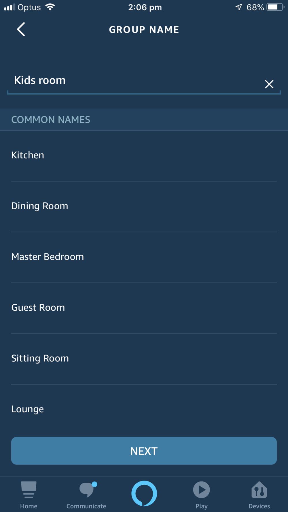 Group Naming