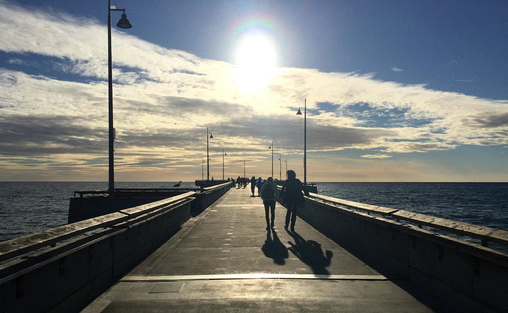 The amazing Venice Beach Fishing Pier!