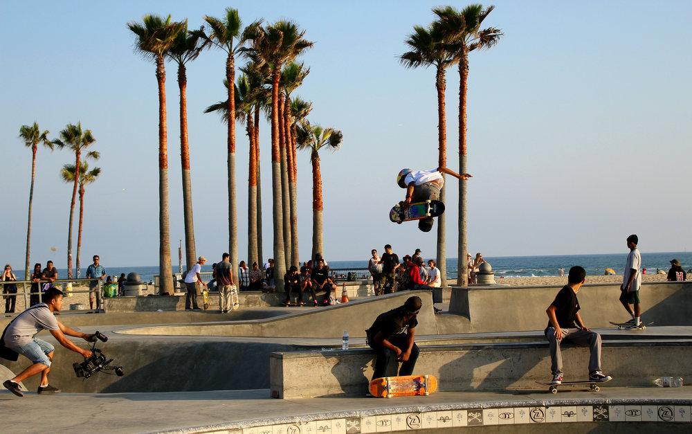 Venice beach skatepark - lifeoffairytales.com