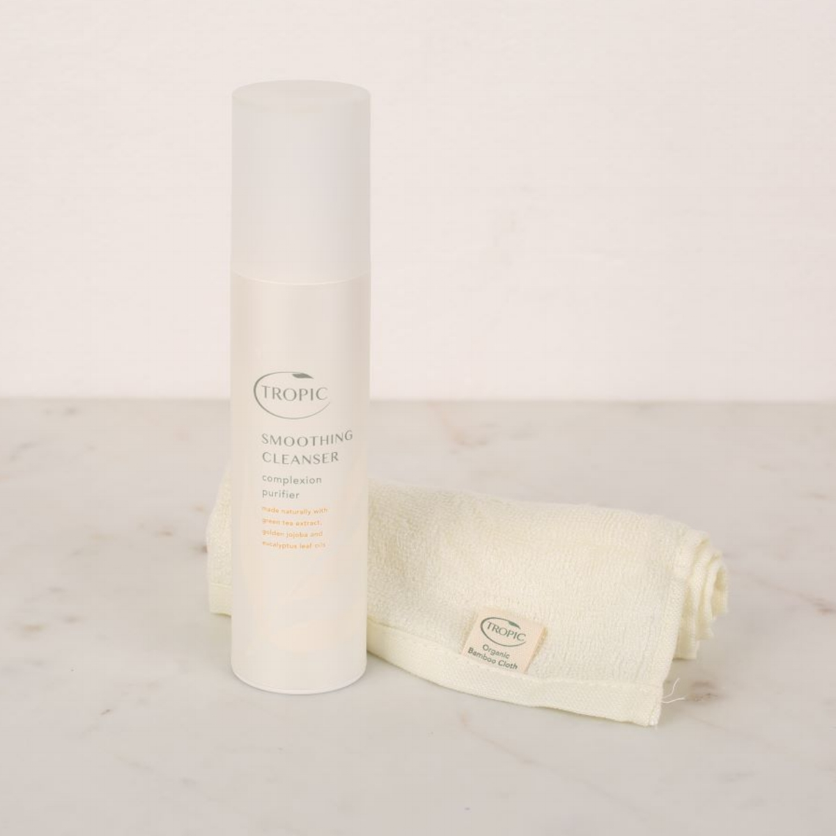 Tropic Skincare Smoothing Cleanser Complexion Purifier Bamboo Cloth Beauty Not Cruelty