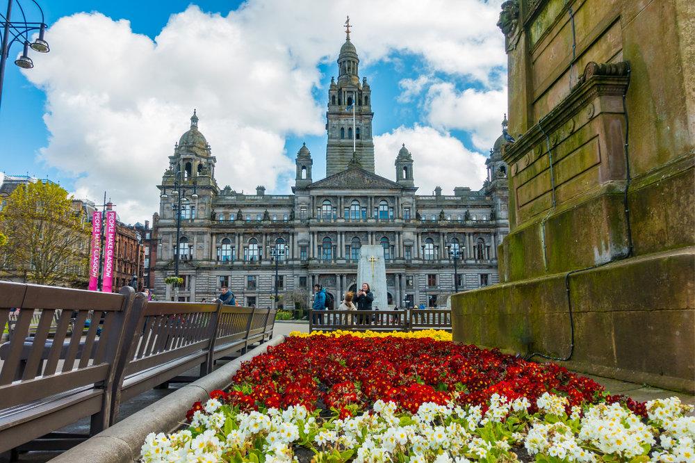 Glasgow City Chambers, George Square, Glasgow.