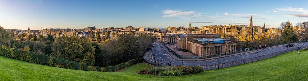 The Mound & Princes Street, Edinburgh