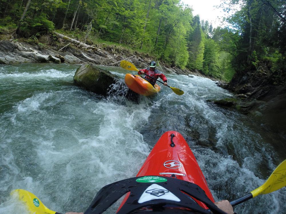 Kayak Kleinwalsertal