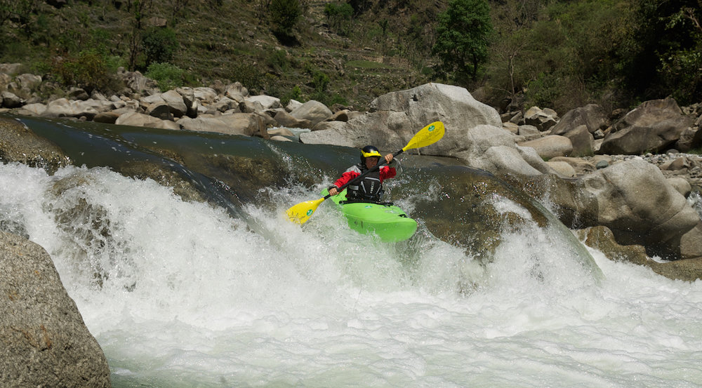 Kayaking Himachal Pradesh