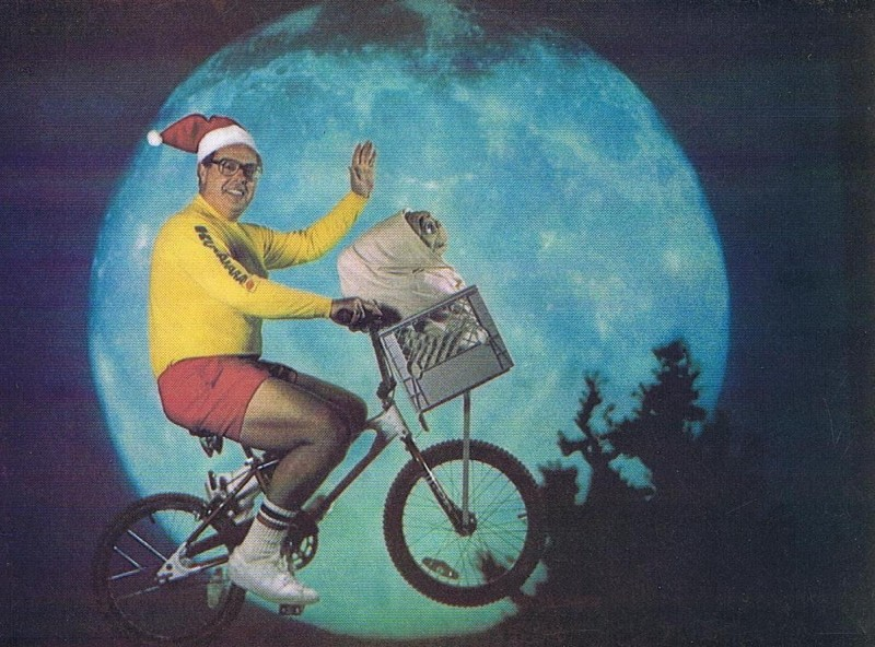 Scanned copy of Howie's 1982 Christmas card.