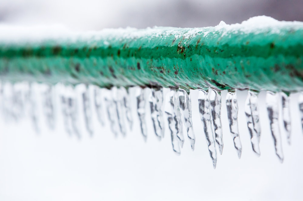 Frozen pipes typically do not burst until temperatures begin to rise.