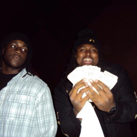 #tbt me and that boy @shrimpjones_yn be down since HS.. #NMB This picture was at Western Michigan