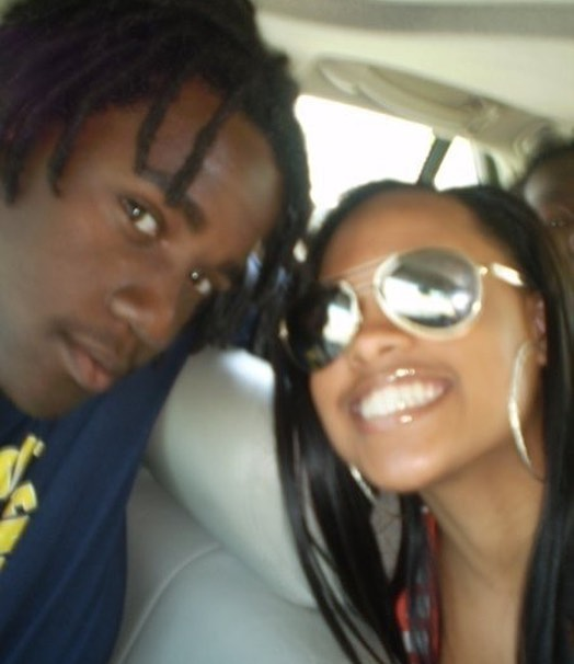 #Fbf me and @mskandycej #randompicture I don't even remember taking this.. but I found it !!! According to dread length this was probably spring of 2009 #notredamealumni #notredame #notredamefootball #emekatv #emekamusic
