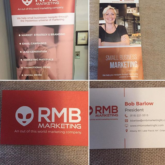 We got our new marketing collateral!!! Yey!!! #smallbusiness