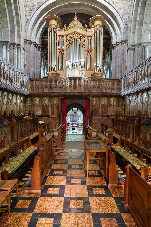 Organ, St Davids Cathedral, St Davids, Wales