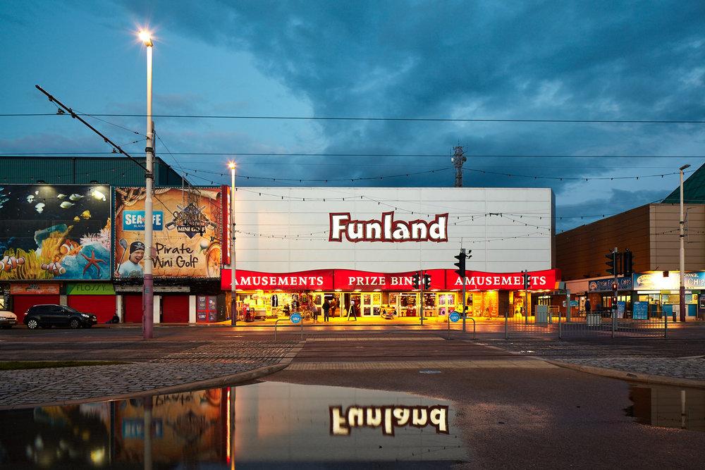 Funland, Blackpool, England