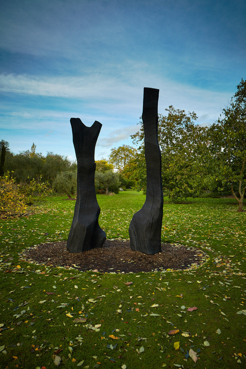 David Nash – King and Queen
