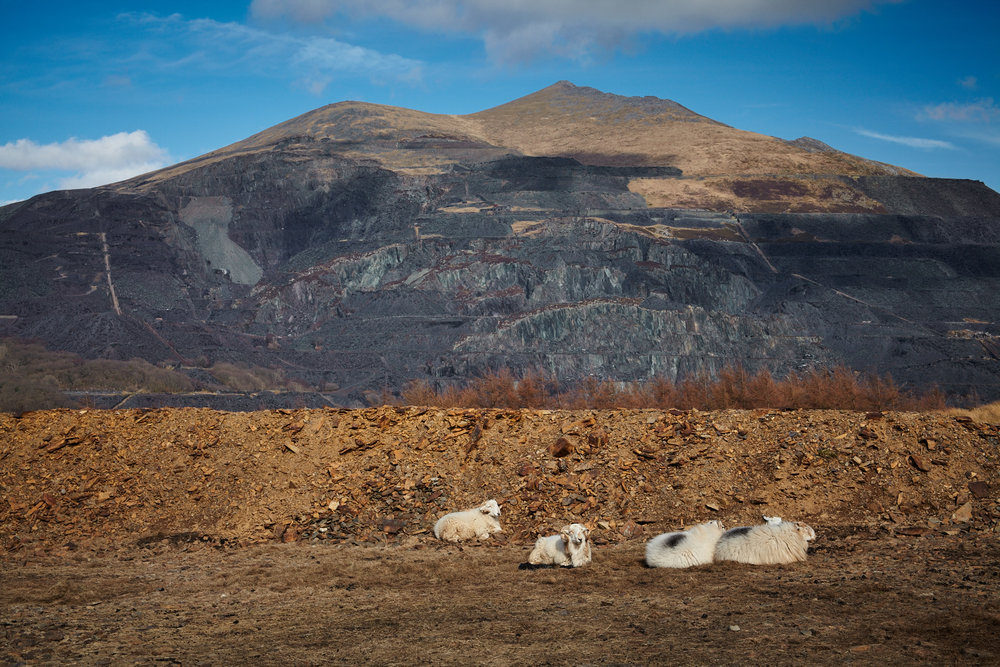 Elidir Fawr and Dinorwig Slate Mines, Snowdonia, Wales
