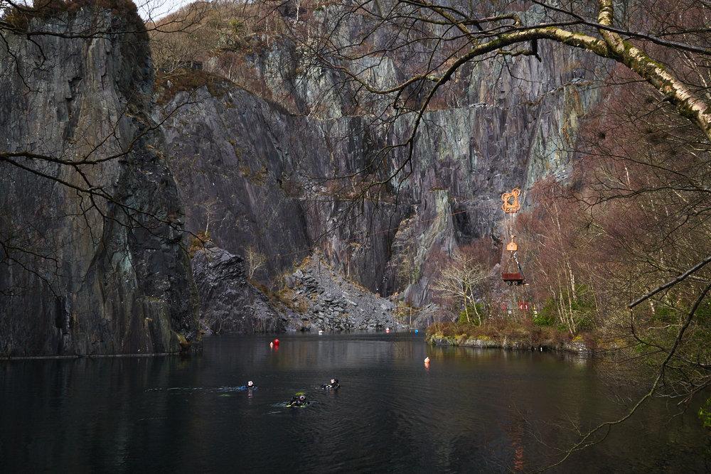 Dinorwig Slate Mines, Llanberis, Wales