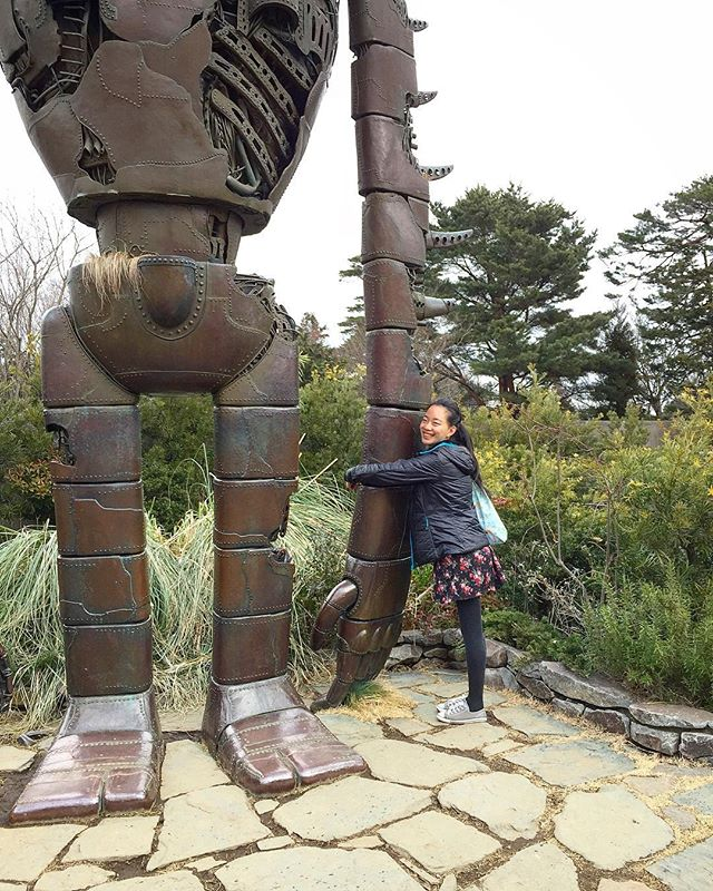To delete for chronology but ghibli museum!!!!!!!!!!!!! Childhood gold mine 😭 I want a ghibli theme park as big as Disney...... we managed to get tickets for a 10am slot and so got non crowded photos woo