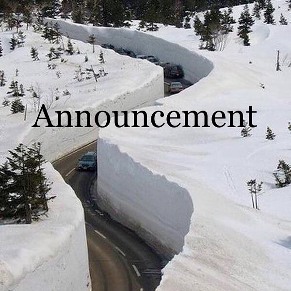 Due to the impending snow storm we will be making early morning decisions on whether we will open for business for the next few days. • Depending on the severity we may be forced to push back the opening of our expansion. • • We appreciate everyone's patience and support. Please stay tuned and we will update everyone as soon as possible.