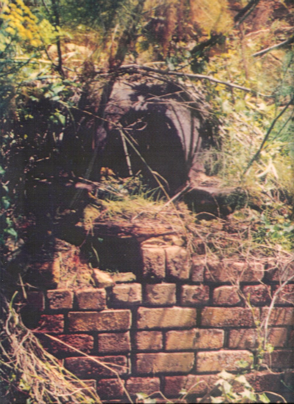 The iron pot in-situ  image courtesy Patrick Maguire, Tasmania Distillery