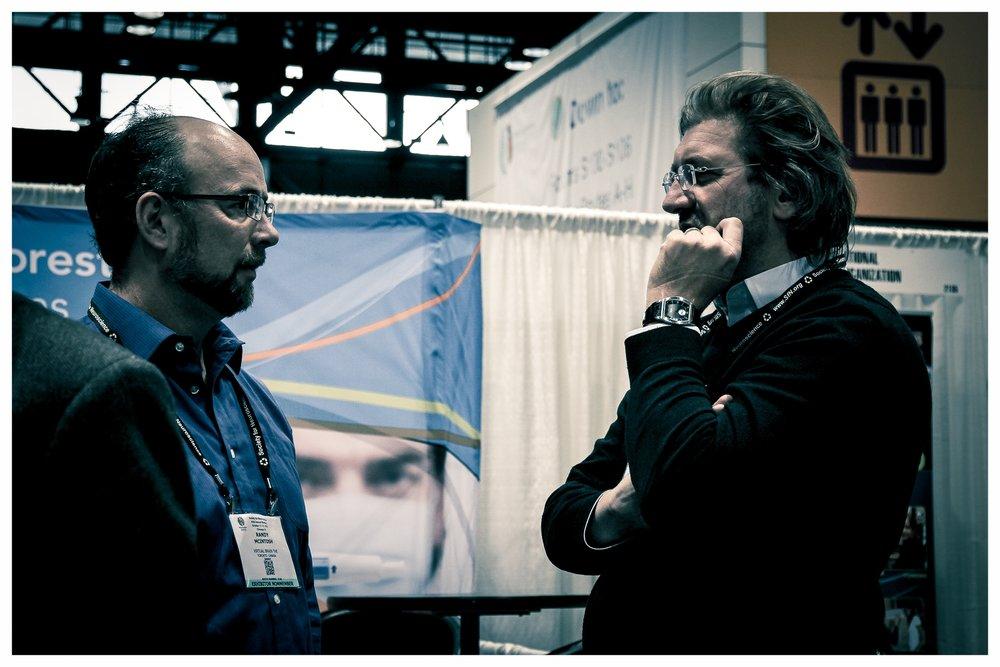 Randy McIntosh (left) & Viktor Jirsa (right) - Photo credit to   Michael Burgstahler; TwoTribes