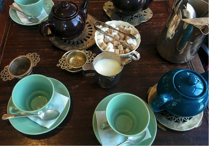 When I am asked how I take my tea, I say, 'seriously' -