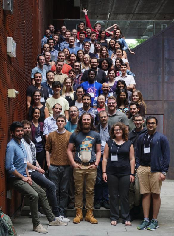 The Neurohackademy 2018 cohort.  Credit: Madeleine Stevenson (University of Washington)