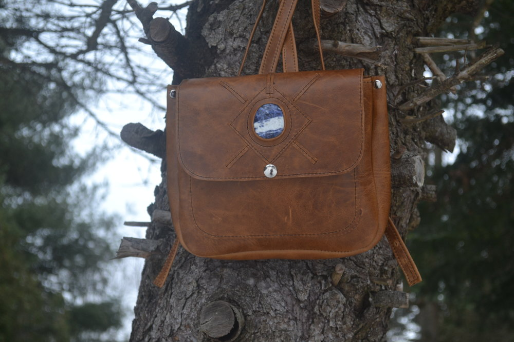 Rhiannon Backpack in Syrup Brown