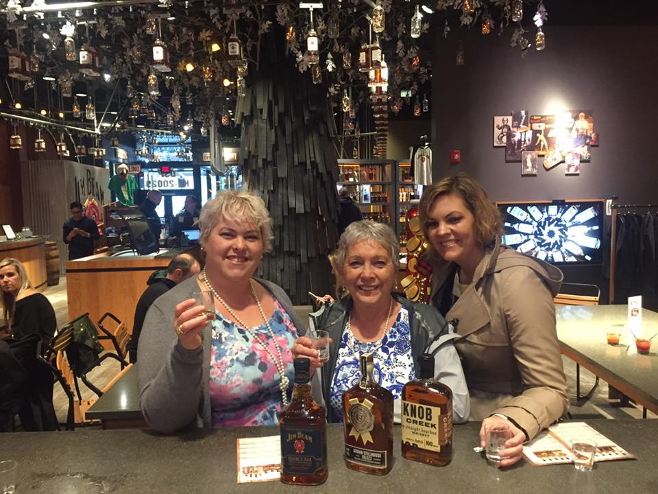 Education at the Jim Beam Distillery in downtown Louisville. I was ok with the apple and sugar maple bourbons...