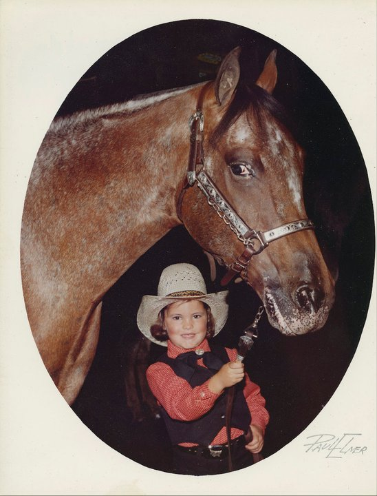 4 years old showing halter...