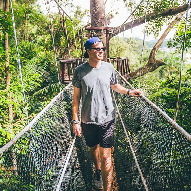 Soaking up treetop views of Bali in the 001s 👌🕶 📷: @jakesvisuals