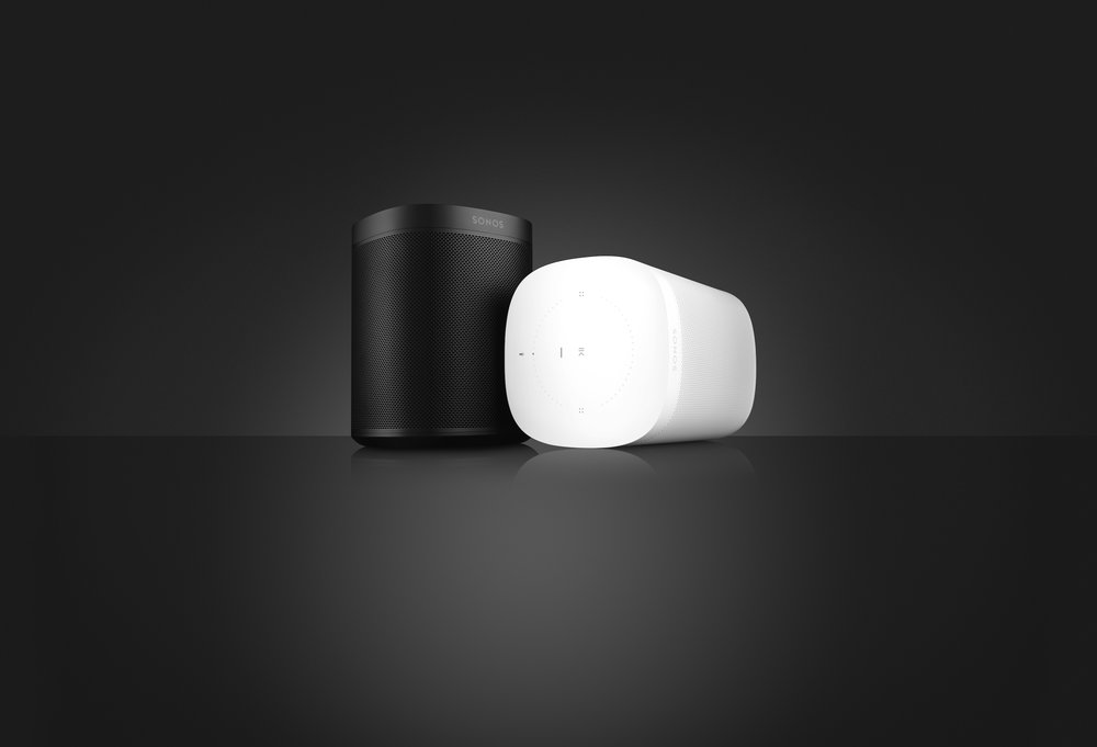 The new Sonos Voice Assistant speaker, named simple the 'Sonos One'